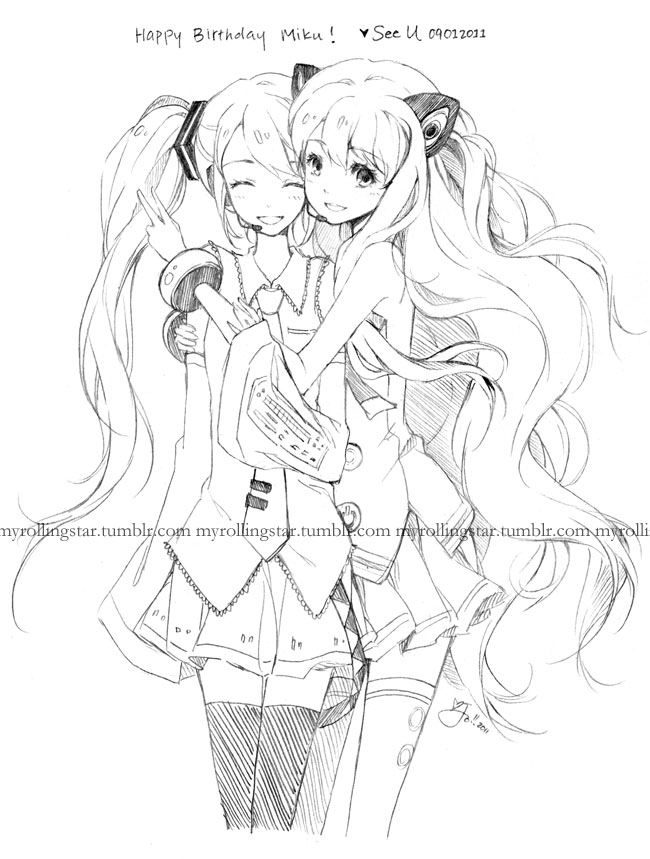 Download image Seeu Vocaloid Coloring Pages PC, Android, iPhone and ...